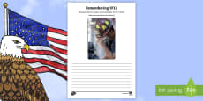 * NEW * Remembering 9/11 Writing Stimulus Picture