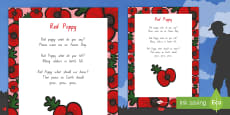 Red Poppy Poem