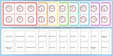 Mixed Time Bingo Gaeilge