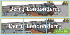Derry-Londonderry Display Banner
