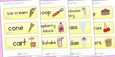 Australia - Ice Cream Parlour Word Cards