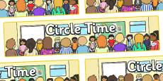Circle Time Display Banner