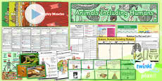 PlanIt - Science Year 3 - Animals Including Humans Unit Pack