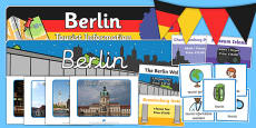 Berlin Tourist Information Role Play Pack