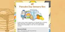 Pancake Day Sensory Box