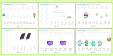 Easter Pencil Control Activity Sheets