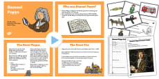 Samuel Pepys Significant Individual Lesson Teaching Pack