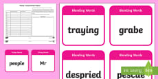 Phase 5 Phonics Assessment Pack