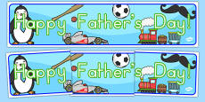 Happy Father's Day Display Banner