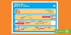 New Zealand Term 1 Calendar Planner