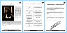 The Bottom of the Stairs Differentiated Reading Comprehension Activity