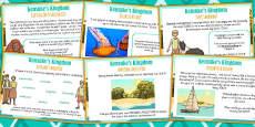 Kensuke's Kingdom Challenge Cards