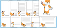 Dog Themed Page Borders Pack to Support Teaching on The Blue Balloon