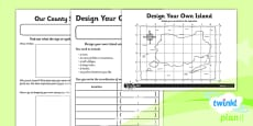 PlanIt - Geography Year 3 - The UK Home Learning Tasks