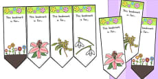 Flower Bookmarks (Australia)