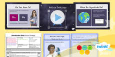 PlanIt - Computing Year 3 - Presentation Skills Lesson 4: Action Settings Lesson Pack