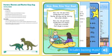 Nursery Rhymes and Rhythm Busy Bag Resource Pack for Parents