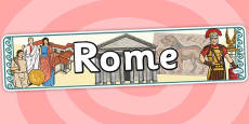 Rome Display Banner
