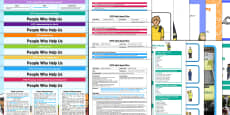 * NEW * EYFS People Who Help Us Bumper Planning Pack