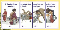 Turas na Croise Display Posters Gaeilge