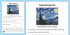 Experiencing Art Activity Sheet