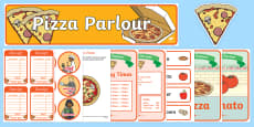 Pizza Parlour  Role Play Pack