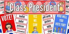 Class President Display Pack