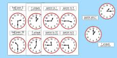 Analogue Clocks Polish Translation