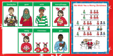 BSL We Wish You a Merry Christmas Song Sheet