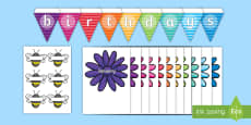 Buzzy Bee Birthdays Display Pack
