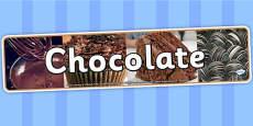 Chocolate IPC Photo Display Banner