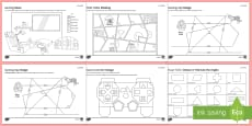 Space at Home Angles GCSE Grades 1-3 Activity Sheets