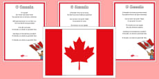 * NEW * O Canada Display Pack