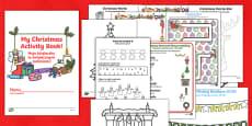 Christmas Activity Book English/Polish