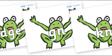 Silent Letters on Frogs