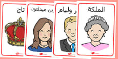 The Royal Family Posters Arabic