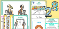 Childminder All About Me and Ourselves: My Body EYFS Resource Pack