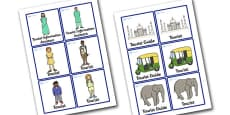 New Delhi Tourist Information Office Role Play Badges