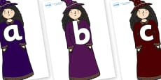 Phoneme Set on Witch