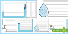 Water Page Borders Pack