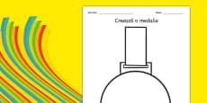 Design a Medal Romanian