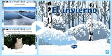 Winter Information PowerPoint Spanish/Español
