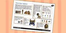 Ancient Egyptian Craft Ideas