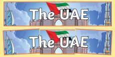 UAE Display Banner
