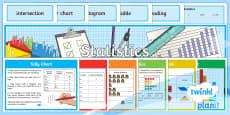 PlanIt Y3 Statistics Display Pack