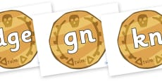Silent Letters on Pirate Coins