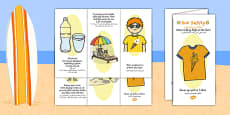 Sun Safety Leaflet Arabic Translation