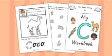 My Workbook C uppercase