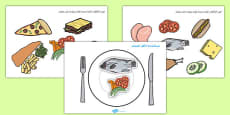 Healthy Eating Meal Activity Arabic