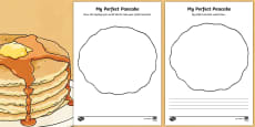 My Perfect Pancake Activity Sheet Pack